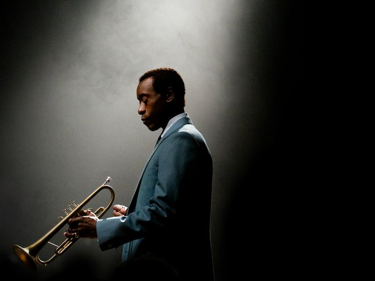 Don Cheadle stars as Miles Davis in the film Miles Ahead, which he also wrote, produced and directed.