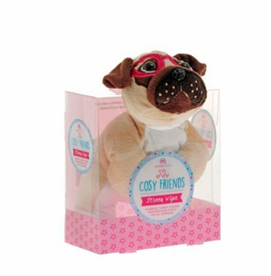 Debenhams Pug screen wipe | Debenhams