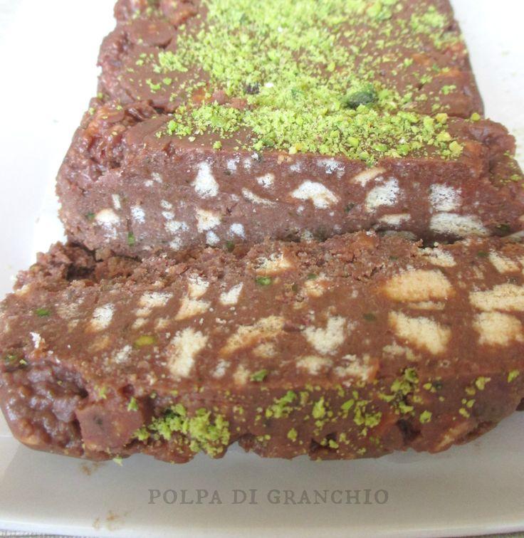 Polpa di granchio: Semifreddo nutella, mascarpone e pistacchi