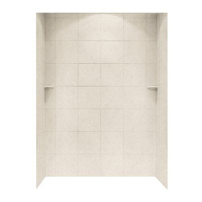 Swanstone Three Panel Shower Wall Kit Size: 72.5\
