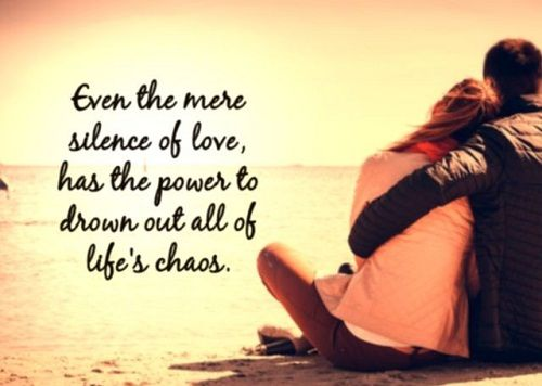 Silence of Love Quotes for Her
