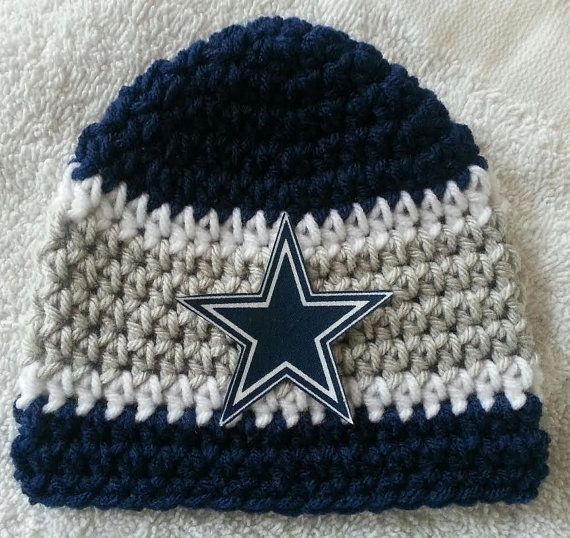 Dallas Cowboys Crochet Baby Hat Pattern : 17 Best ideas about Crochet Football Hat on Pinterest ...