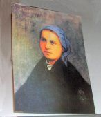 moving picture of St. Bernadette