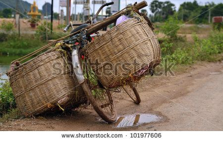 All around Asia you will find bicycles overloaded with too much cargo and just…