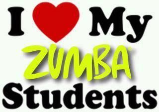 I Love My Zumba Students!