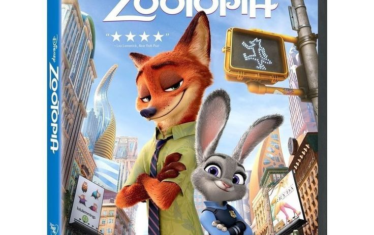 Zootopia (DVD 2016) New Free Shipping