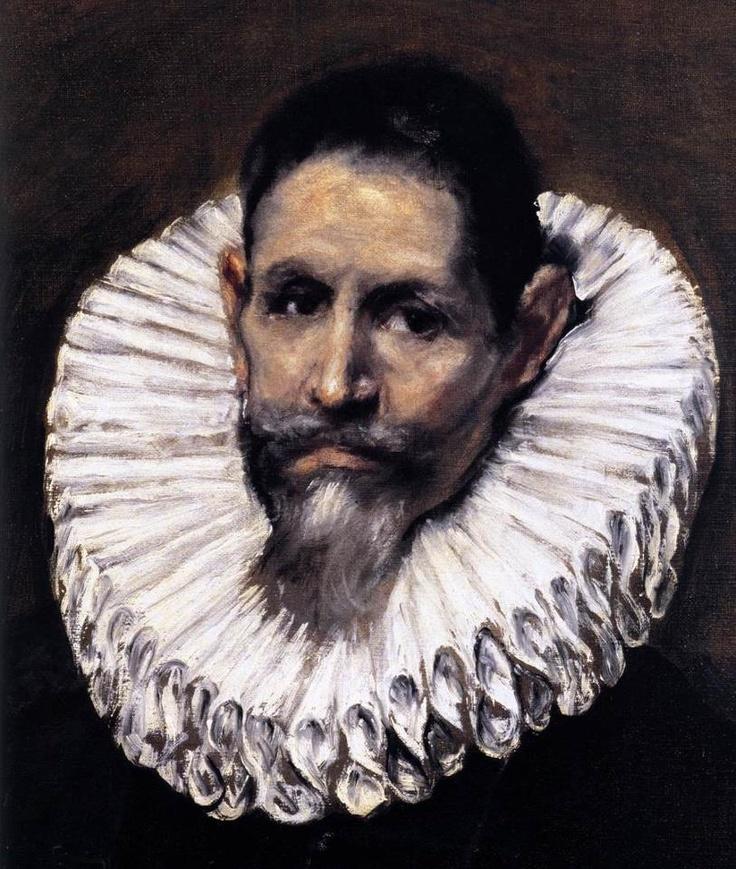 EL GRECO  Jerónimo de Cevallos (detail)  c. 1610