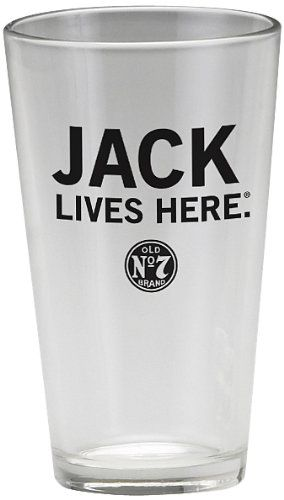 Jack Daniel's Licensed Barware Jack Lives Here Mixing Glass, 2015 Amazon Top Rated Iced Tea Glasses #Kitchen