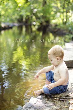 outdoor children photography summer navy - Google Search