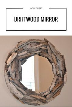 How to make a driftwood mirror   Do It Yourself   DIY Crafts
