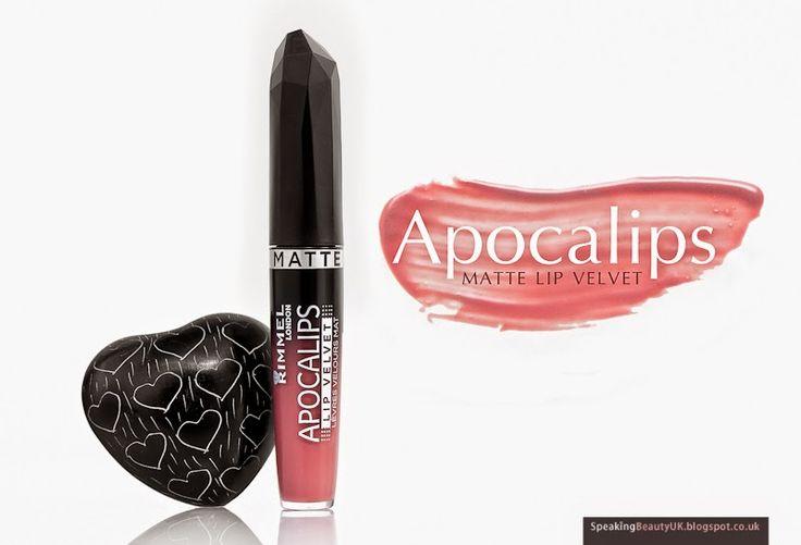 Speaking Beauty UK: Rimmel Apocalips Matte Lip Velvet | REVIEW