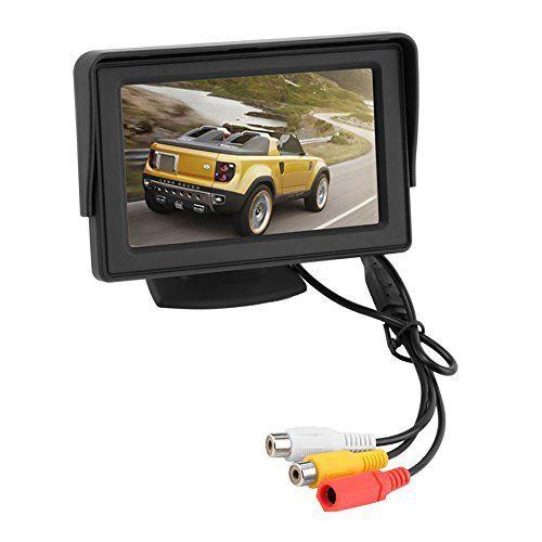 crewpros (TM) nouvelle 10,9cm voiture moniteur LCD TFT écran couleur pour capteur de secours arrière Caméra de recul DVD Hot Vendre:…