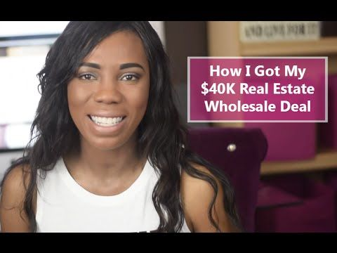 Wholesale Real Estate: Wholesaling Houses How I Got My $40K Deal - Part 1