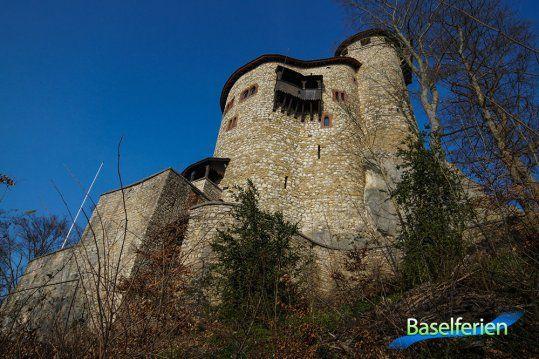 Burg Reichenstein in #Arlesheim (BL).