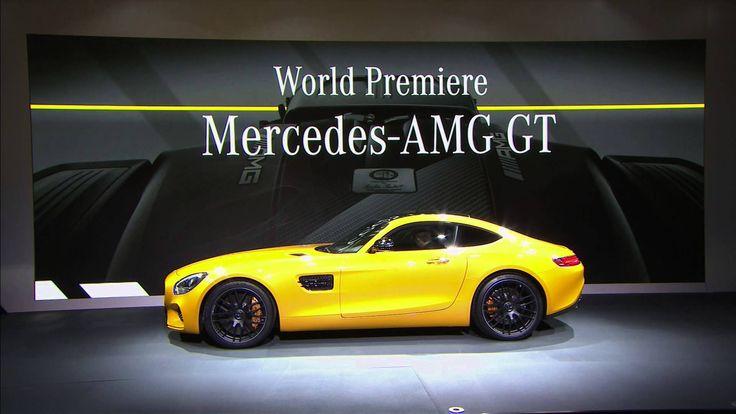 Mercedes-AMG GT V8 Sports Car - Nico Rosberg Video