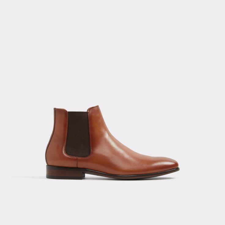 Aradowen Cognac Men's Dress boots   ALDO US