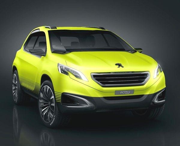 Peugeot 2008 Concept - 2012 Paris Auto Show