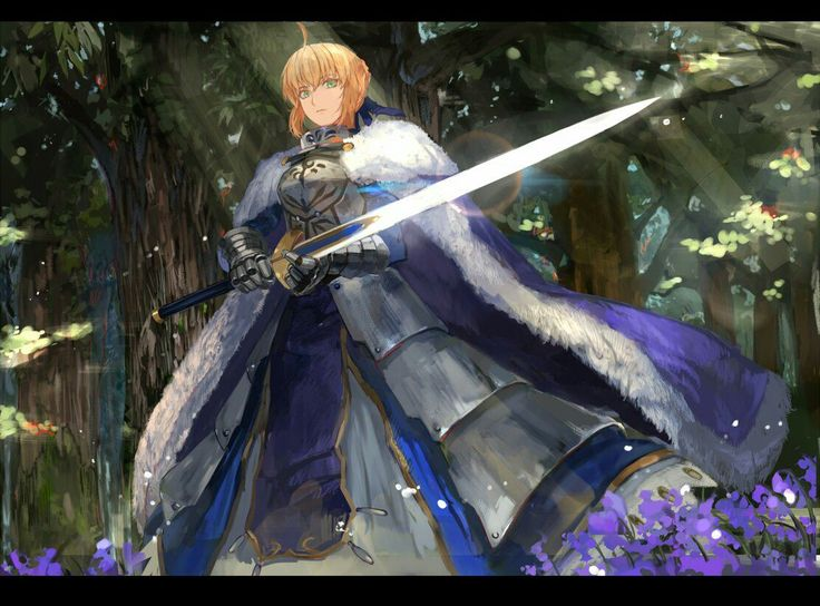 Arthuria Pendragon the King of Knights