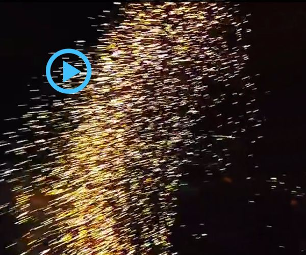 Gorgeous Video Of Fireworks Filmed With A Drone.