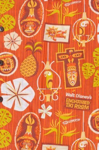 Shag Disney Disneyland Enchanted Tiki Room 50th Hawaiian Men Shirt Aloha Medium | eBay