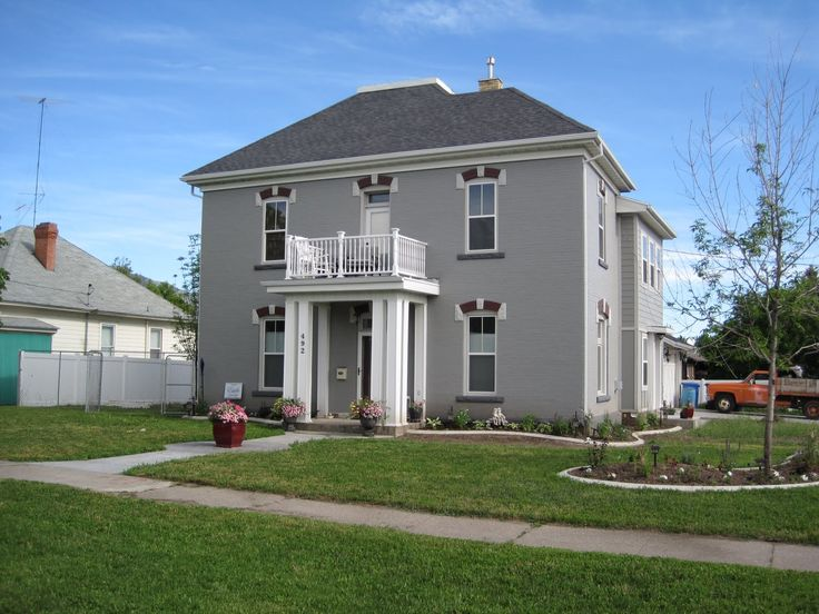 Earl Gray Exterior Paint
