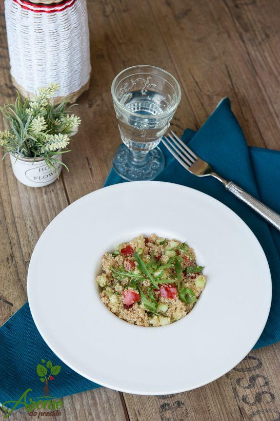 Quinoa are propietati nutritive ridicate, este bogata in proteine, fiind o…