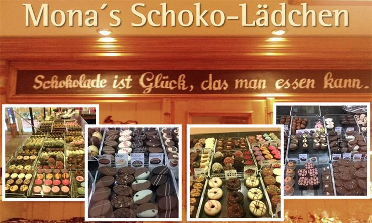 Belgische Pralinen und Schokolade sowie feine Trüffel in Schwetzingen bei Mona's Schoko-Lädchen