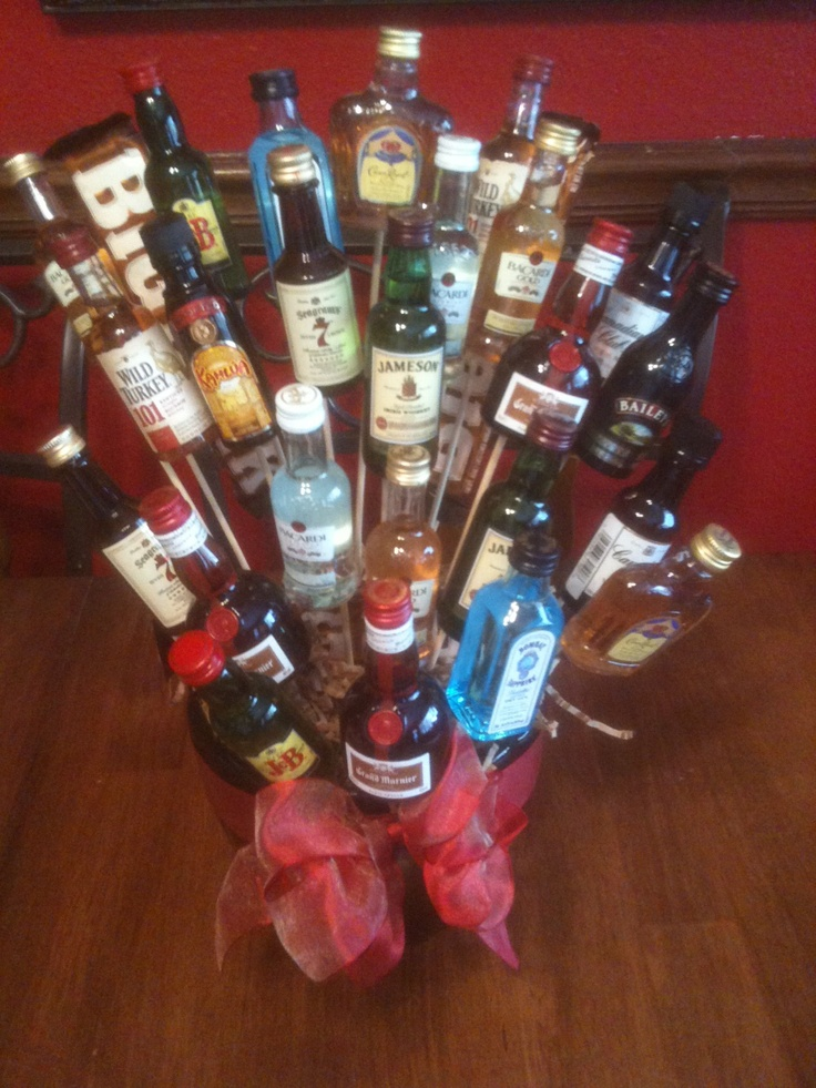 17 Best Images About Liquor Gift Baskets On Pinterest