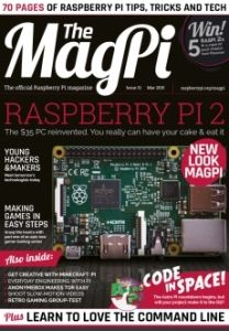 the-magpi-magazine-marzo-2015-ya-disponible-para-su-descarga