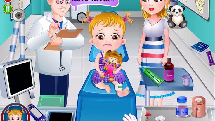 Baby Hazel Leg Injury    Best Games Ever World   Baby Hazel Games