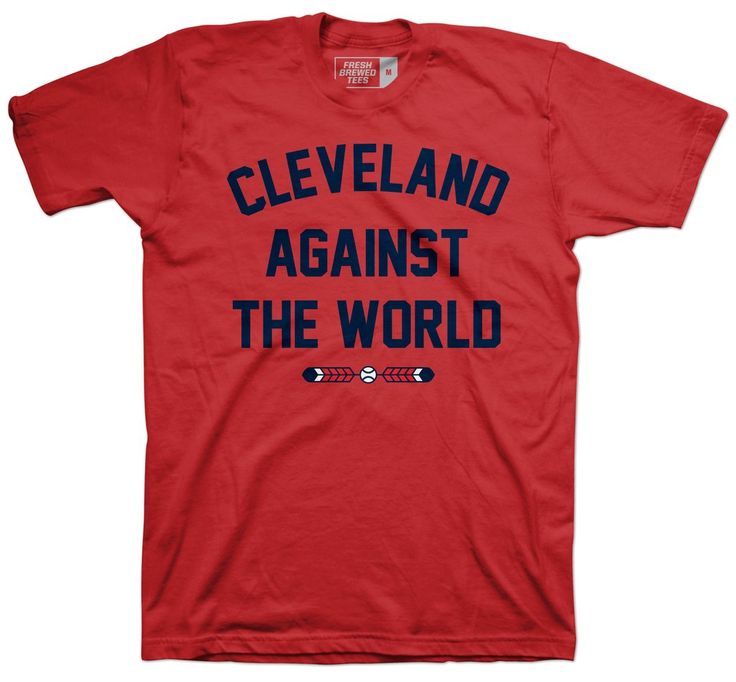 Check out our entire Cleveland Baseball Collection!  100% Combed Ringspun Cotton Machine Wash Cold, Hang to Dry Imported