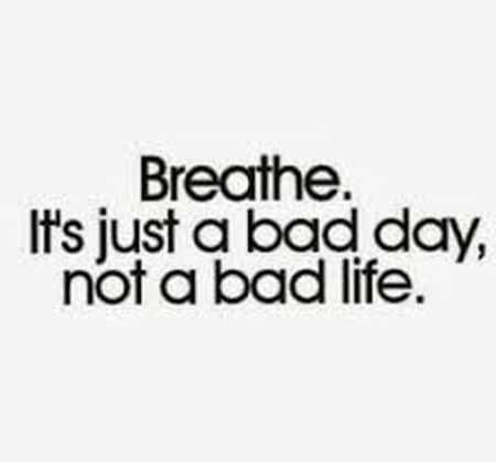 But what if a bad day shapes your life?