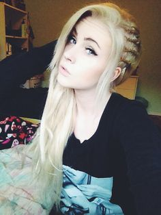 side hair cornrows white girls - Google-Suche