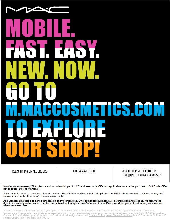 Mac Cosmetics Email Sign Up Makeupview Co
