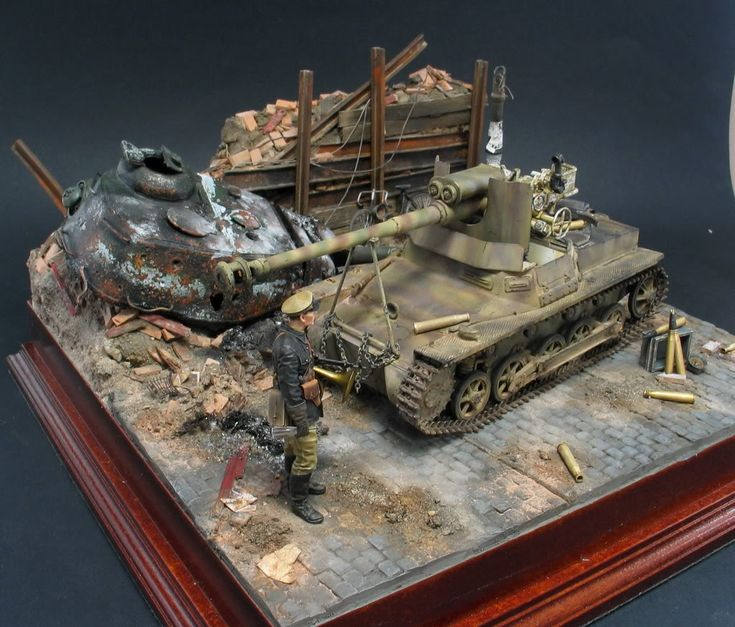 Bad ass sturmgeschutz by per olav lund ww ii dioramas for Scale model ideas