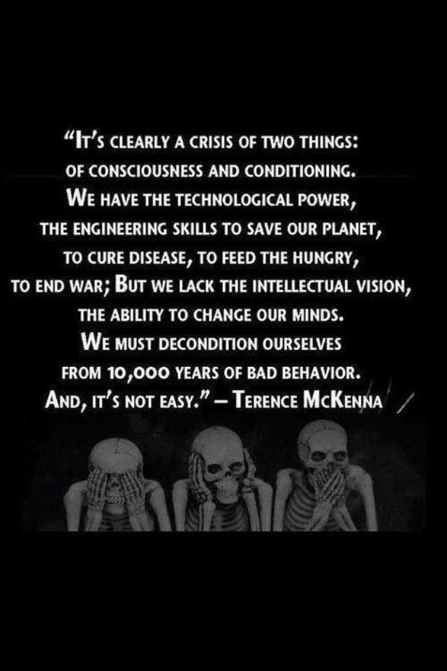 Not easy but it's possible and we have no choice...The future of our planet absolutely depends on the logical reasoning powers of it's inhabitants...
