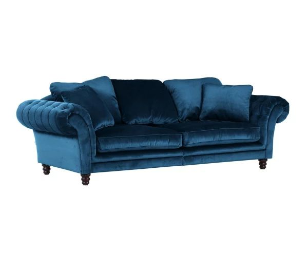 "Sofa ""Marokko Turquoise"", 273 x 110 x 85 cm"