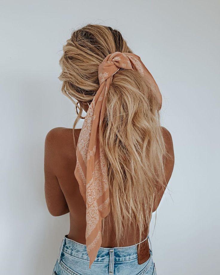 "CARA JOURDAN on Instagram ""Tied Up 🎀 Dream ponytail by"