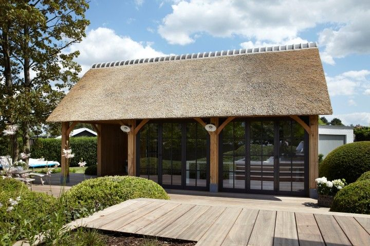 Cottage bijgebouw Eik & Riet > Eik & Hout   Bogarden