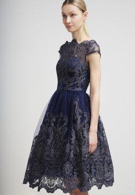 Dieses Kleid ist für deinen ganz großen Auftritt! Chi Chi London Ballkleid - navy/silver für 94,95 € (30.12.15) versandkostenfrei bei Zalando bestellen.