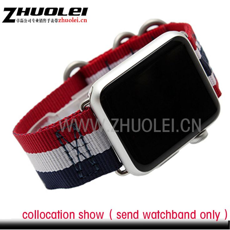 $8.10 (Buy here: https://alitems.com/g/1e8d114494ebda23ff8b16525dc3e8/?i=5&ulp=https%3A%2F%2Fwww.aliexpress.com%2Fitem%2Fnew-style-38mm-42mm-Stripe-waterproof-nylon-strap-watchband-for-apple-watches-Contains-iWatch-adapter%2F32704700555.html ) new style 38mm 42mm Stripe waterproof nylon strap watchband for apple watches Contains iWatch adapter for just $8.10