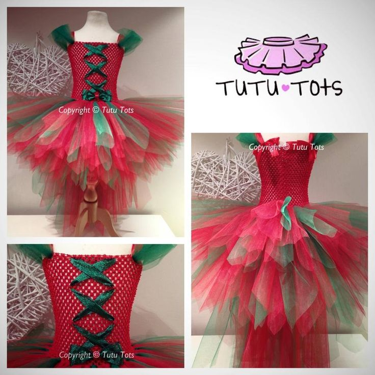 Christmas tutu dress from tutu tots