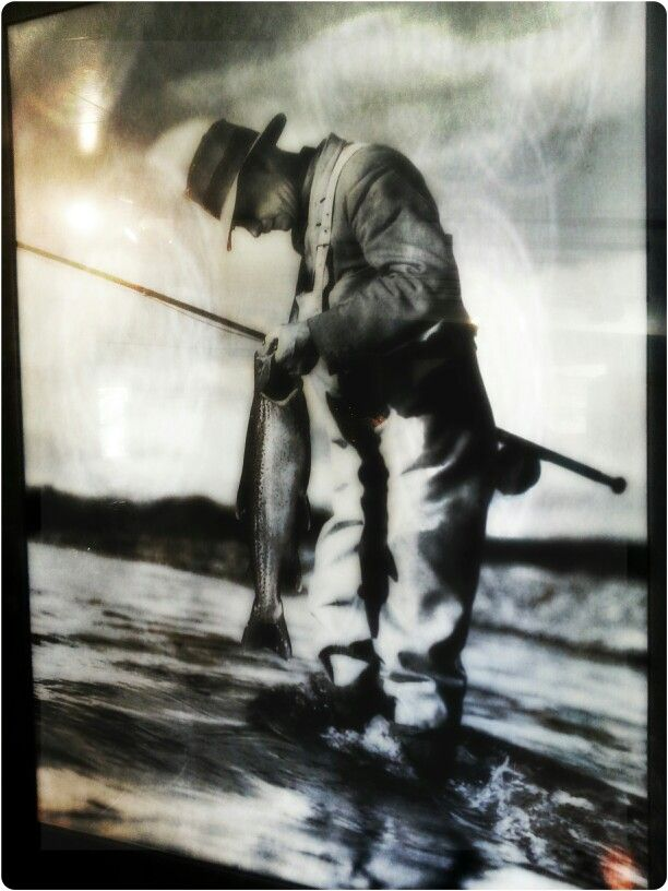 Old school trout fishing near Lake Taupo New Zealand