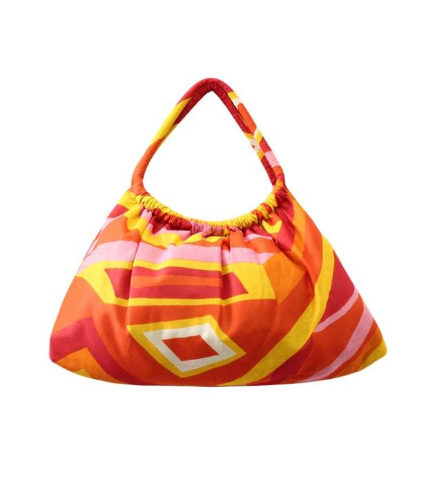 Loved it: Anekaant Geometric Orange Cotton Handbag, http://www.snapdeal.com/product/anekaant-geometric-orange-cotton-handbag/838202602