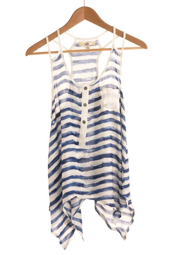 Cute nautical tank top!