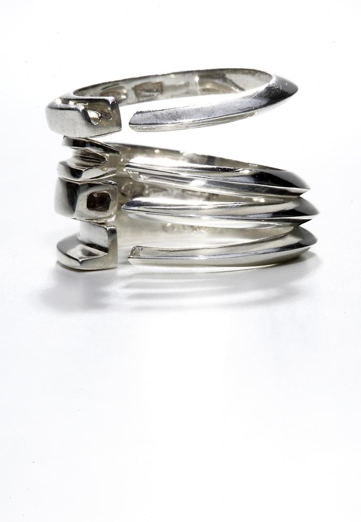 Anelli LOVE argento,Atelier VM