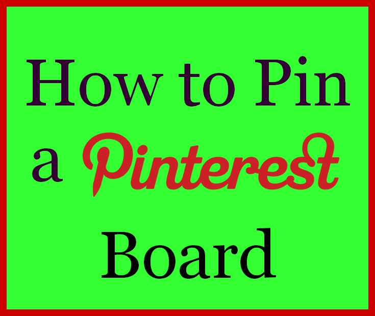 How to Pin a Pinterest board, the Easy Way with This FREE Tool!