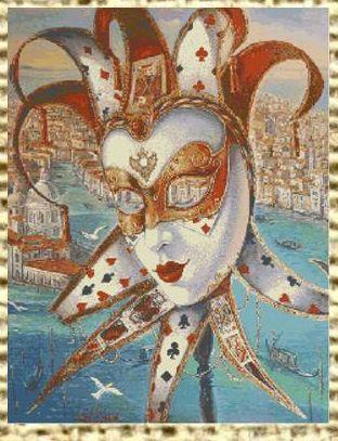 Gallery.ru / Фото #19 - Карнавальные маски Венеции - sampo