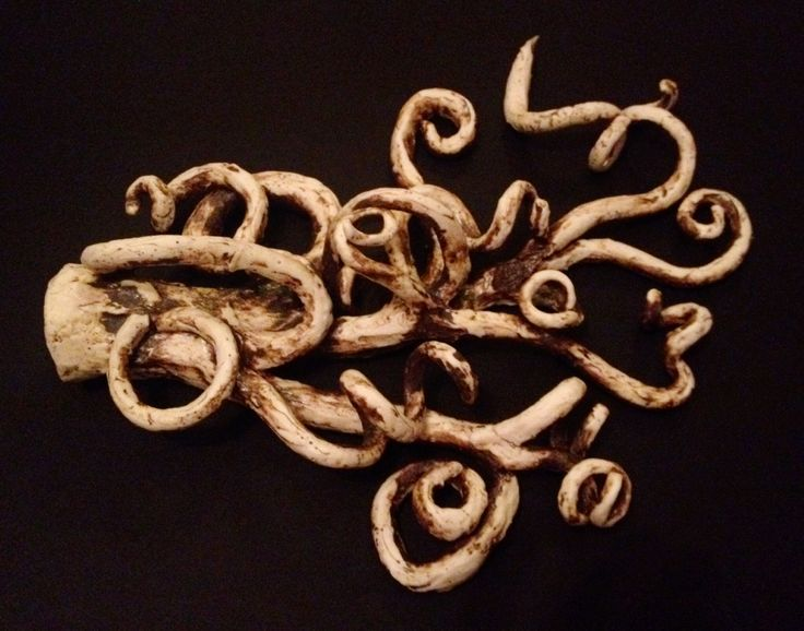 Porcelain roots - made by Tracy Dryden-Jones