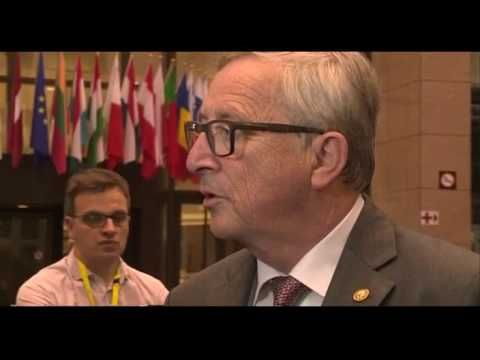 Jean Claude Juncker  'If you are out, you are out'   BBC News